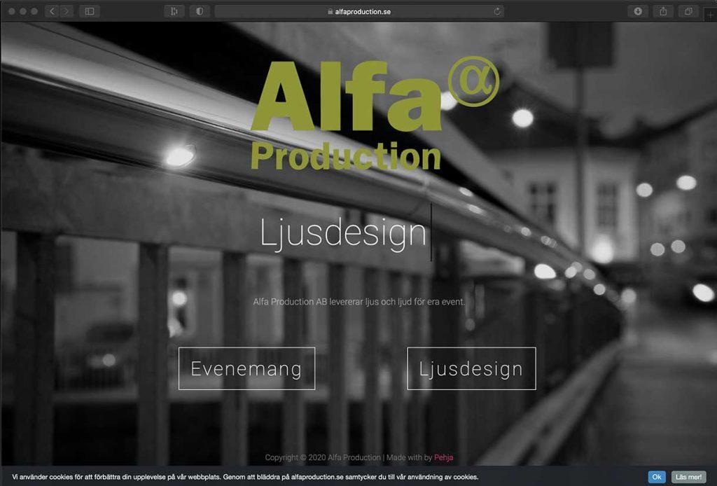 Alfaproduction